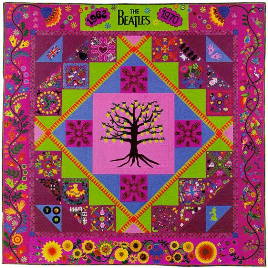 The Beatles Quilt
