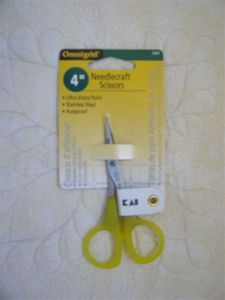 Omnigrid 4inch Needlecraft Scissors